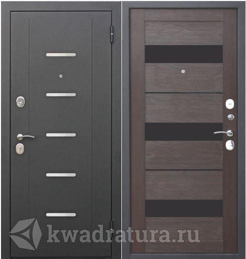 Входная дверь Феррони Гарда 7,5 Темный кипарис