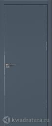 Межкомнатная дверь Профильдорс 1Е Антрацит кромка алюминиевая