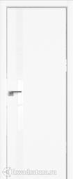 Межкомнатная дверь Профильдорс 6Е Аляска алюминиевая кромка