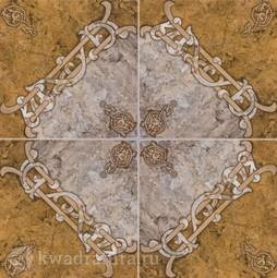 Напольная плитка ВКЗ Арабская вязь 32,7х32,7 см