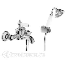 Смеситель для ванны и душа Bravat F675109CB Art с душевой лейкой