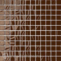 Керамическая мозаика Темари темно-коричневый 29.8x29.8