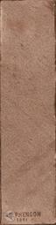 Керамогранит Aparici Brickwork Moka Stamp Natural 24.9x100 см