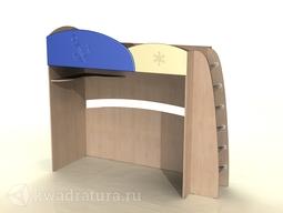 Кровать-чердак Капитошка-К