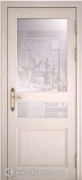 Межкомнатная дверь Азалия ДО Дуб жемчужный