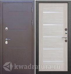 Входная дверь Феррони Изотерма серебро лиственница
