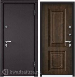 Дверь входная стальная Торэкс Snegir 20 MP 8019/КТ Орех грецкий S20-02