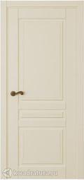 Межкомнатная дверь Крокус ДГ эмаль слоновая кость