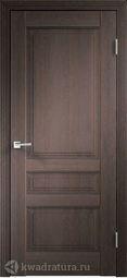Межкомнатная дверь VellDoris Laura 3P дуб венге браш