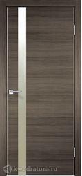 Межкомнатная дверь VellDoris Магнум дуб серый поперечный