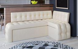 Кухонный уголок Манчестер скамья-диван угловая со спальным местом светлый