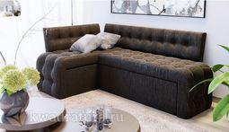 Кухонный уголок Манчестер скамья-диван угловая со спальным местом венге