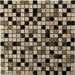 Мозаика каменная Bonaparte Turin 15 30.5x30.5
