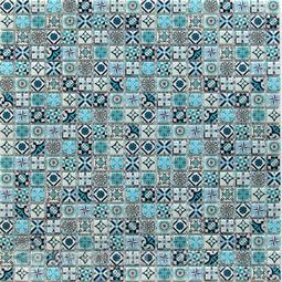 Мозаика стеклянная Bonaparte Xindi blue 30x30