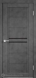 Межкомнатная дверь VellDoris Next 2 Муар темно-серый