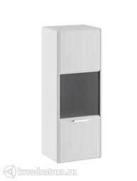Шкаф настенный Наоми  белый глянец