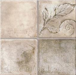 Напольная плитка М-Квадрат Бавария штамп коричневый 33х33 см