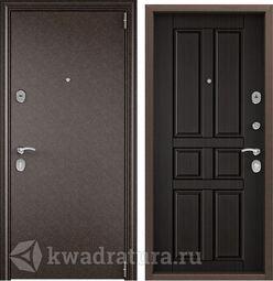 Дверь входная стальная Торэкс Delta М 10 медь/ПВХ венге СК62