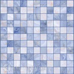 Плитка для пола и стен Lasselsberger Орнелла Мозаика Синий 30x30 см