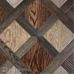 Напольная плитка М-Квадрат Мадера коричневый 33х33 см