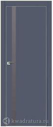 Дверной комплект Профильдорс 6Е Антрацит алюминиевая кромка 2000*800