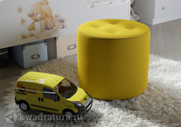 Пуф тип 8 желтый