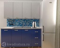 Кухонный набор Селена 59 Металлик 1600 мм