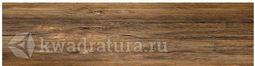 Керамогранит Березакерамика Шервуд коричневый 60х15 см