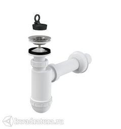 Сифон для раковины Alca Plast A410 с нержавеющей решеткой
