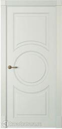 Межкомнатная дверь Океан Лацио 1 ДГ Эмаль белый шелк