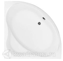 Ванна акриловая Aquanet Santiago 160х160