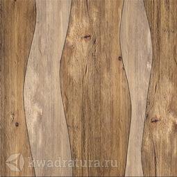 Керамогранит Березакерамика Вега коричневый 41.8х41.8 см