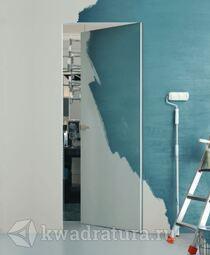 Скрытая дверь Invisible внутреннего открывания под покраску с кромкой ABS