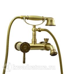 Смеситель для ванны и душа Bronze De Luxe 10419 Windsor
