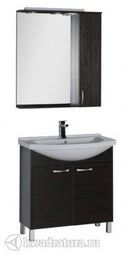 Набор мебель для ванной Aquanet Донна 80 венге