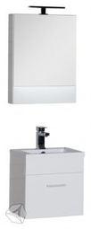 Набор мебель для ванной Aquanet Нота 50 белый глянец