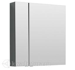 Зеркало-шкаф Aquanet Алвита 80 серый антрацит