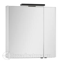 Зеркало-шкаф Aquanet Франка 85 белый